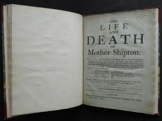 MOTHER SHIPTON 1648 STRANGE PROPHESIES Soothsayer LIFE DEATH 1687 PREDICTION 4