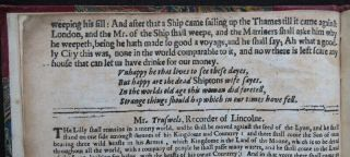 MOTHER SHIPTON 1648 STRANGE PROPHESIES Soothsayer LIFE DEATH 1687 PREDICTION 9