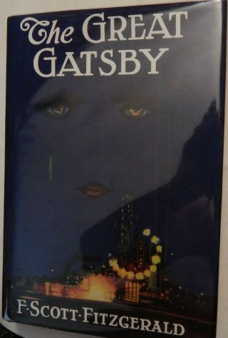 """ The Great Gatsby "" First Edition,  First State"