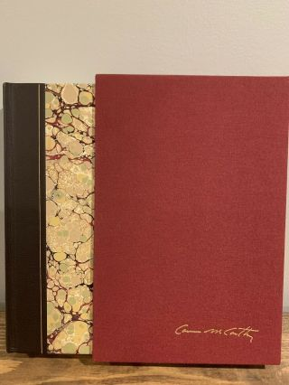 Cormac Mccarthy - No Country For Old Men - Signed Limited Edition - Numbered