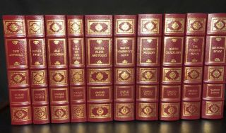Complete Of Charles Dickens – Easton Press – Leatherbound - 21 Volumes