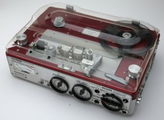 Nagra E Tape Recorder With Accessories