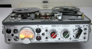 Nagra IV - S with many accessories (ATN2,  manuals,  etc. ) 5