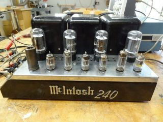 Mcintosh Mc240 Stereo Power Amplifier