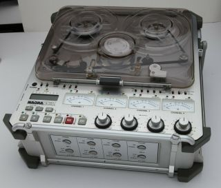 Nagra - D 4 Channel Digital Audio Recorder Plus Accessories,  Very Of Use
