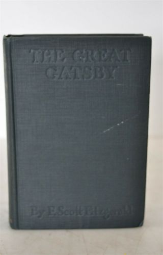 The Great Gatsby F.  Scott Fitzgerald 1st Edition/ Printing Scribners 1925 Books 5