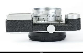 Leica Leitz 35mm Summaron F3,  5 Chrome M3 Lens Scale In Meters