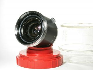 Rare Carl Zeiss Distagon 32mm F2.  8 Contaflex 126 Lens -