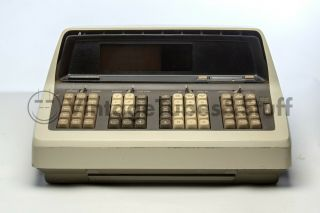 Hp 9100b Calculator - Decent Shape,  - With Diagnostic Cards