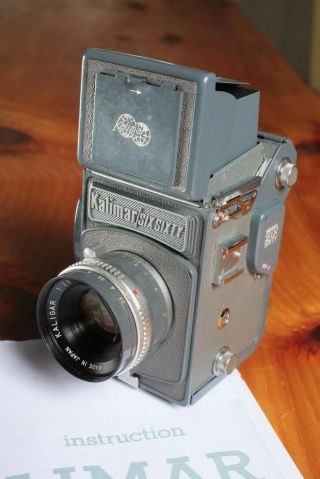 Kalimar Six Sixty 120 Camera,  With Directions And 2 Rolls Of Film