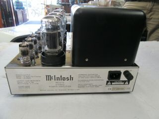 Mcintosh MC 275 MK IIII Tubed Stereo Power Amplifier With Box 5