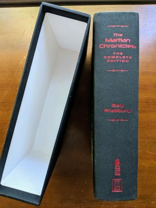 The Martian Chronicles: The Complete Edition,  Subterranean Press Limited Edition