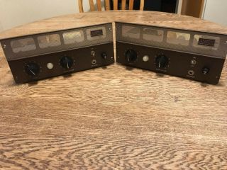 Ampex Tube Amps 10watt 6v6 Output,  An Execeptionally - Pair
