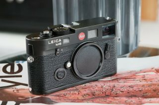 Leica M6 Ttl 0.  58 Rangefinder In Black Chrome [excellent Condition]