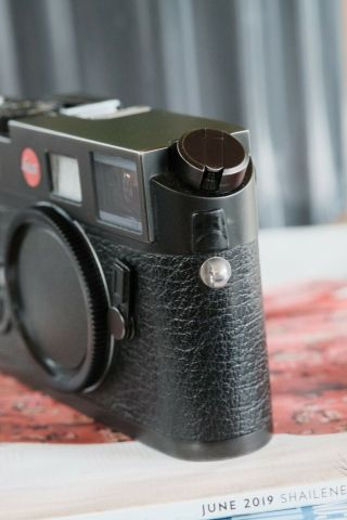 Leica M6 TTL 0.  58 Rangefinder In Black Chrome [Excellent Condition] 5
