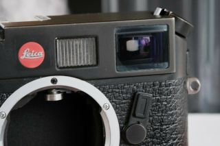 Leica M6 TTL 0.  58 Rangefinder In Black Chrome [Excellent Condition] 8