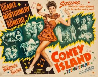 Vintage Movie 16mm Coney Island Feature 1943 Film Drama Adventure