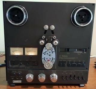 Technics Rs - 1506us Reel To Reel Deck With Unusual Recording And Playback Options
