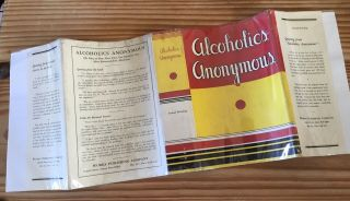 alcoholics anonymous 1st edition 2nd Print With 1941 COMPLETE DJ 3