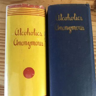alcoholics anonymous 1st edition 2nd Print With 1941 COMPLETE DJ 5