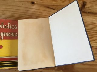 alcoholics anonymous 1st edition 2nd Print With 1941 COMPLETE DJ 9
