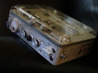Nagra Kudelski Iv - L Tape Recorder Reel To Reel