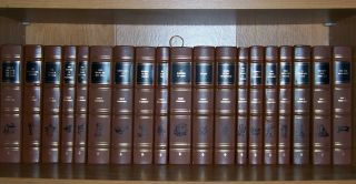 Easton Press Complete Of Ernest Hemingway 20 Vols Old Man And The Sea.