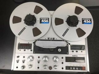 Revox Pr99 Mkii Pro Studio Reel W/remote,  3.  75 And 7.  5 Ips (great)