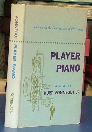 Player Piano By Kurt Vonnegut A First Printing In Its Dj Scribners 1952