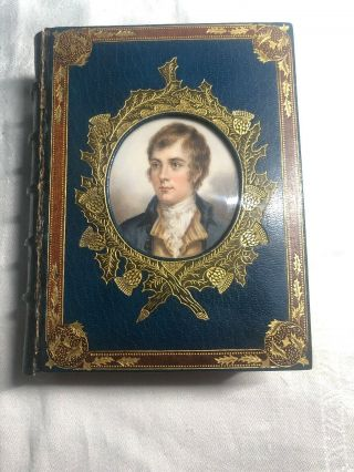 The Book Of Scottish Song - Alex Whitelaw Bound By Riviere & Son,  Glasgow 1851