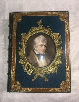 The Book Of Scottish Ballads - Alex Whitelaw Bound By Riviere & Son,  Glasgow 1845