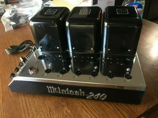 Mcintosh Mc 240 Parts Amp
