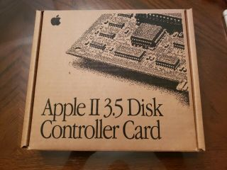 Apple Ii 3.  5 Disk Controller Card