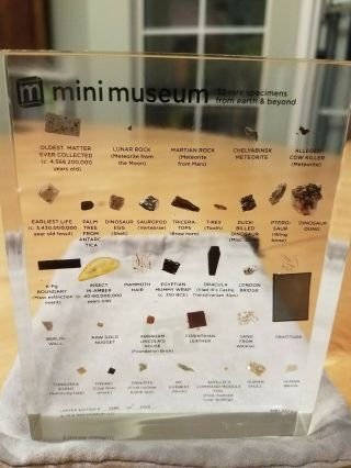 1st Edition Mini Museum Size Large,  Like,  Impossible To Find