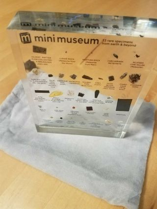 1st Edition Mini Museum Size Large,  like,  Impossible to find 6