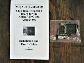 "Amiga Dkb Megachip "" 2mb Chip Ram "" For Commodore Amiga 500 2000 2000hd 2500 Cdtv"