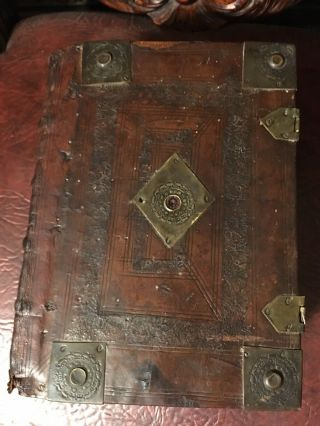 1634 King James Bible All 6 Dated Pages Present