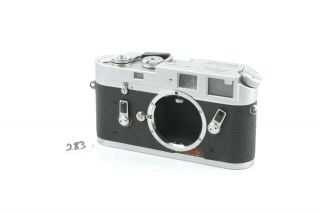 Leica M4 (silver) Range Finder Camera Body