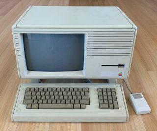 Rare Apple Lisa 2/5 With Keyboard And Mouse,  Very