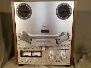 Akai Gx - 635d Reel - To - Reel Tape Deck Recorder Serviced & Fully