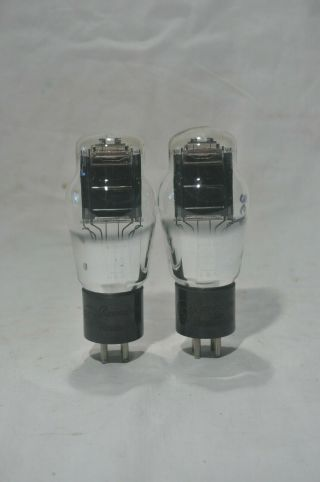 (2) Rca Cunningham 2a3 Mono Plate Tubes.  Stock