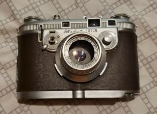 1948 Bell And Howell Foton Camera