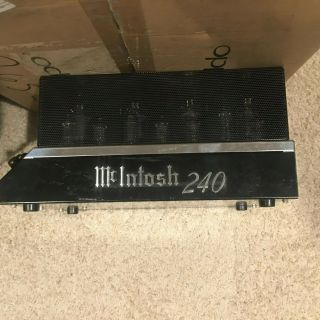 Mcintosh Mc 240 Tube Cage