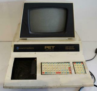 Commodore Pet Series 2001 Vintage Computer Personal Desktop Electronic Pc Retro