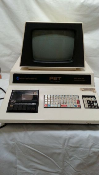 Commodore Pet 2001 - 8 With Chiclet Keyboard Parts,  Manuals