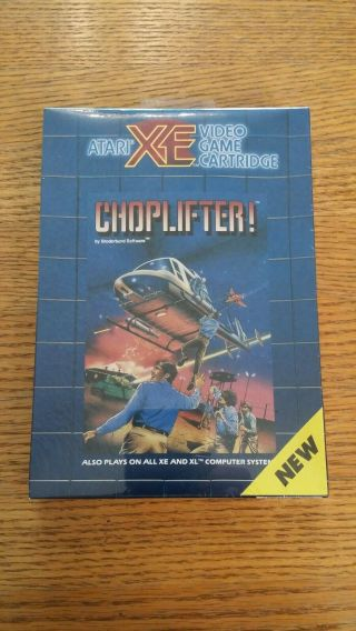 Classic: Choplifter For Atari 400/800 Xl Xe -