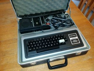 Radio Shack Trs - 80 Microcomputer Model 1 Cassette Recorder,  Case