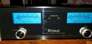 Mcintosh Mc 162 Power Amp - 100 Watts Pure Power Re - Listed Prev.  Cancelled
