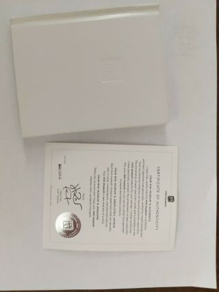 1st Edition Mini Museum Large, .  Certificate of Authenticity 2