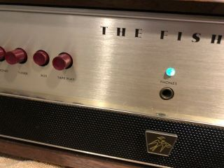 The Fisher X - 101 - C Vacuum Tube Integrated Amplifier Estate Find